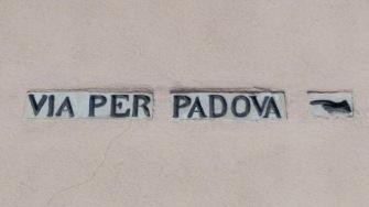 Via per Padova